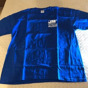 Gildan t-shirt J&M motorcycle audio logo. XL NEW